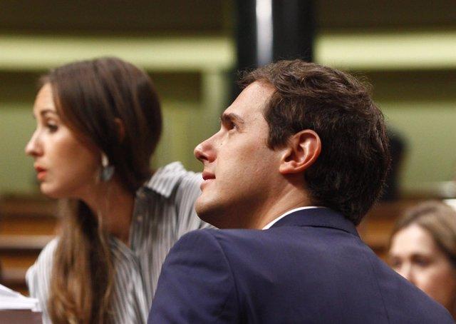 Melisa Rodríguez y Albert Rivera, de Ciudadanos