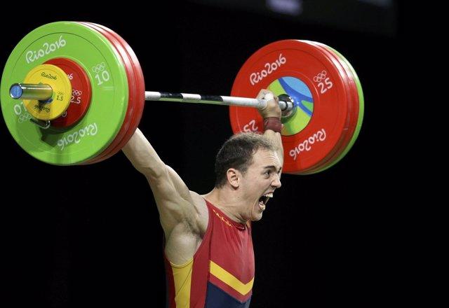 Eduardo Mata logra el récord de España en los Juegos de Río
