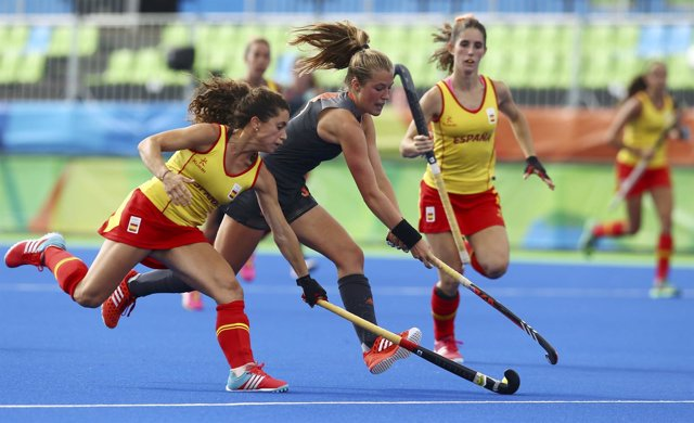 Georgina Oliva Lola Riera selección española hockey hierba femenino Holanda Río