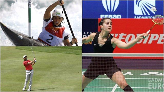 Maialen Chourraut Sergio García Carolina Marín Juegos Olímpicos Río
