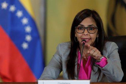 """Delcy Rodríguez acusa a Mauricio Macri de querer """"la destrucción del MERCOSUR"""""""