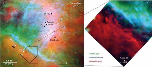 Nube Molecular de orión