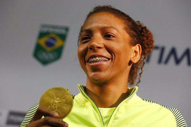 Rafaela Silva:  El primer oro de Brasil viene de una favela