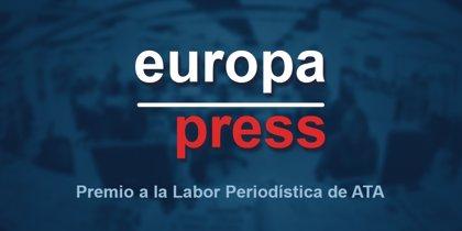 Europa Press, galardonada con el Premio a la Labor Periodística de ATA