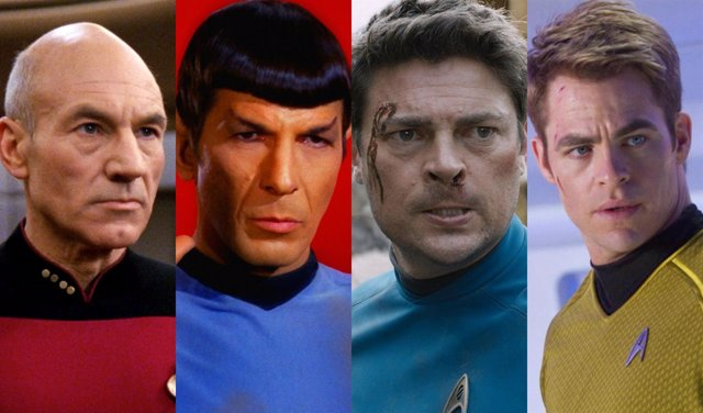 Collage personajes Star Trek
