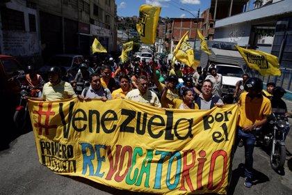 """Venezuela.- Países de la OEA urgen a Venezuela a """"cumplir sin demora"""" las fases del referéndum revocatorio"""