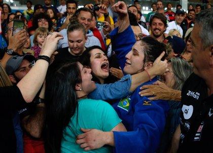 La judoka brasileña Mayra Aguiar logra el bronce en la categoría hasta 78 kg