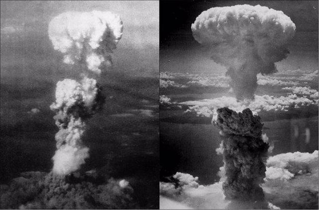Bombas atómicas y efectos