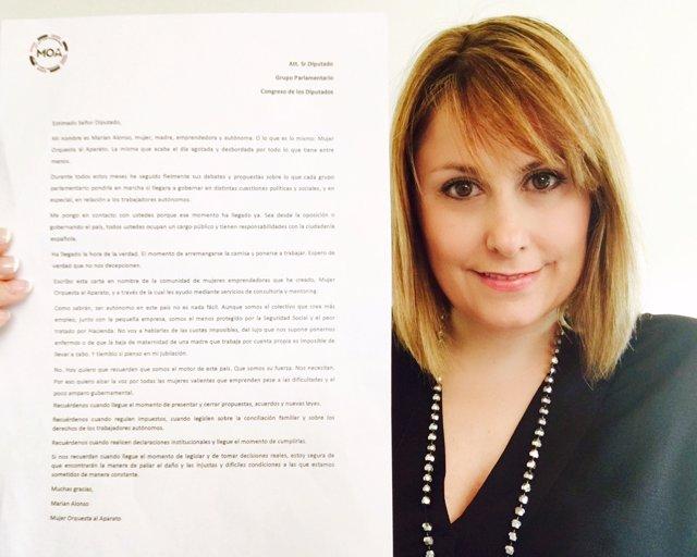 LA LUCHA DEL AUTÓNOMO. Emprendedora Envía 350 Cartas Al CONGRESO DE LOS DIPUTADO