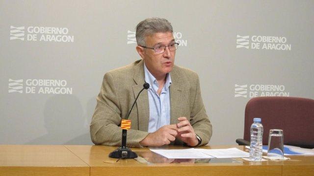 El gerente el IASS , Joaquín Santos