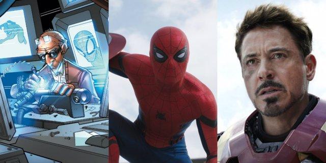 El chapucero, Spiderman, Iron man