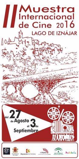 Cartel de la Muestra Internacional de Cine del 'Lago de Iznájar'