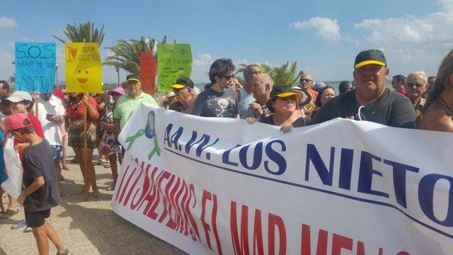 Mnaifestación por el Mar Menor