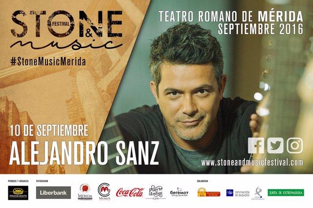 Alejandro Sanz en el Stone and Music Festival
