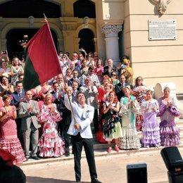Abanderado de la Feria de Málaga 2016, Daniel Hierrezuelo