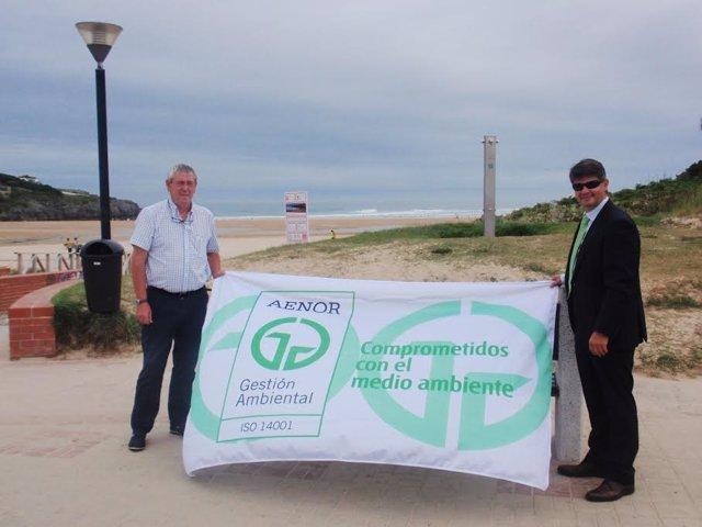Distinción playa Cuberris en Ajo