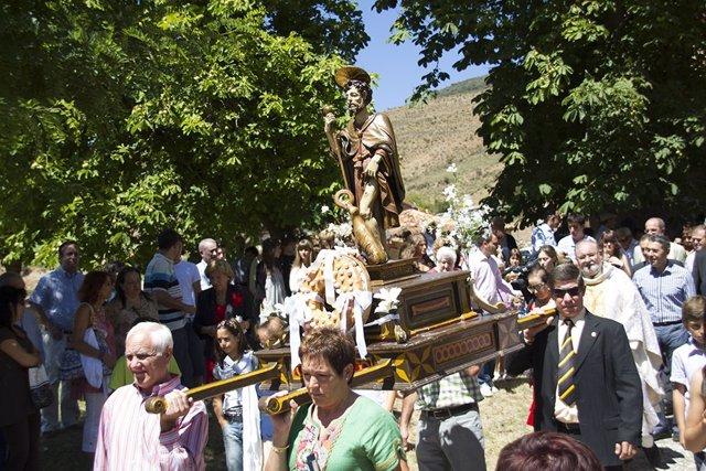 Procesión San Roque de Ventrosa
