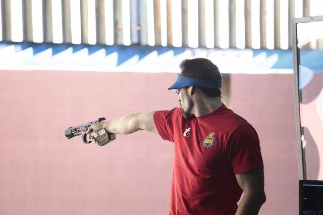 Jorge Llames 25 metros pistola velocidad Campeonatos Mundo tiro