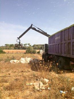 Servicio de recogida de plásticos agrícolas