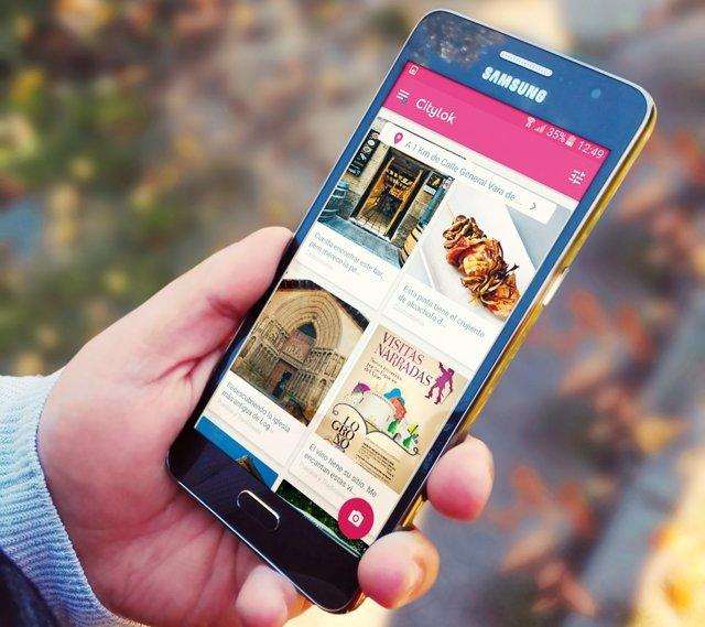 Aplicación riojana para móvil