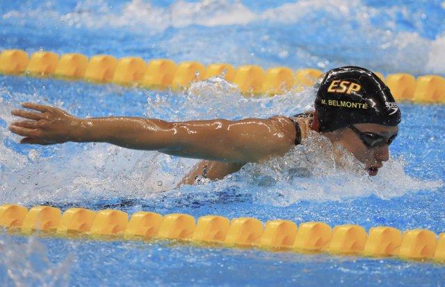 Mireia Belmonte en los Juegos Olímpicos de Río  de Janeiro