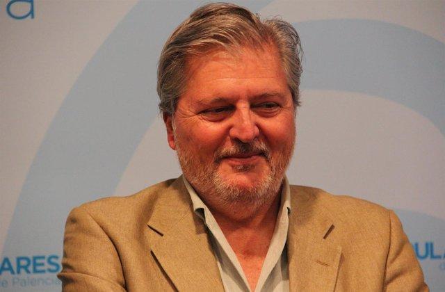 El ministro y candidato al Congreso por Palencia, Íñigo Méndez de Vigo