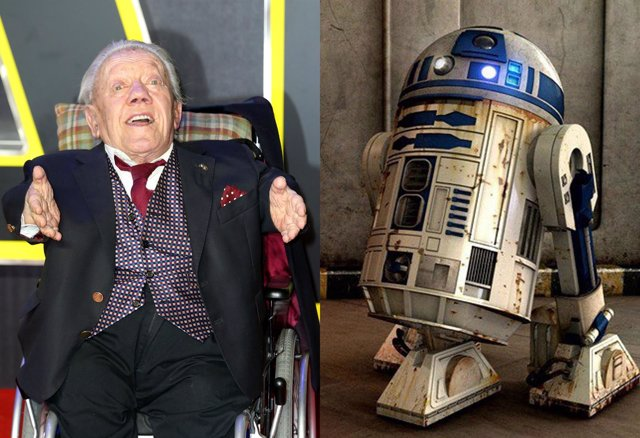 Kenny Baker, actor de R2-D2