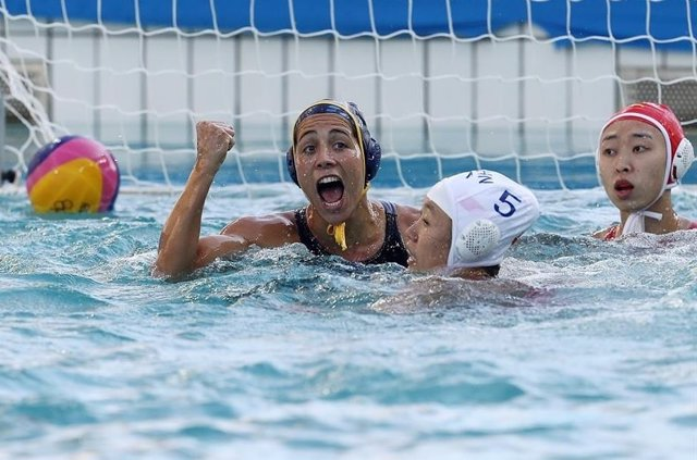 La selección española femenina de waterpolo vence a China en los JJOO