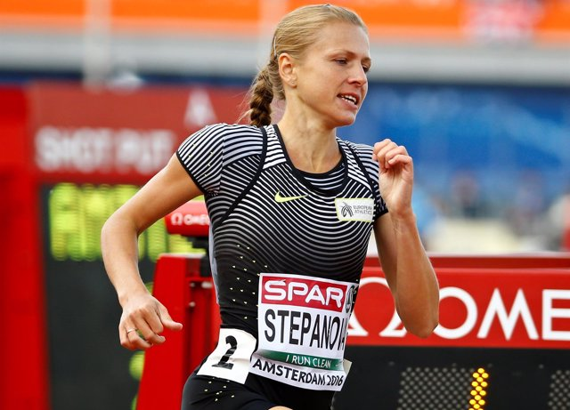 La atleta rusa Yuliya Stepanova