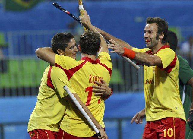 La selección española de hockey sobre hierba en Río 2016