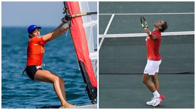 Nadal y Alabau buscan nuevas medallas para la delegación española