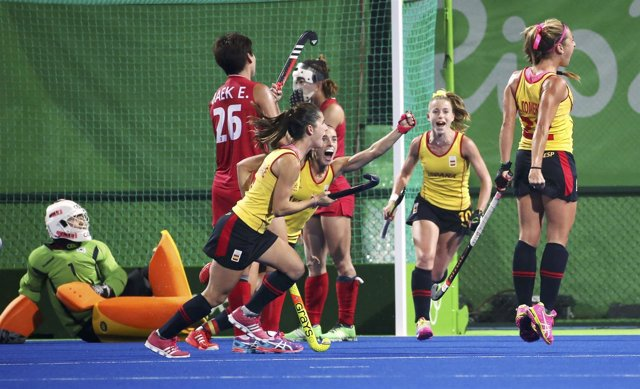 España gana a Corea en el hockey hierba de los Juegos Olímpicos