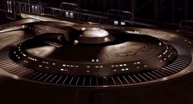 La nave Discovery de la nueva serie Star Trek Discovery