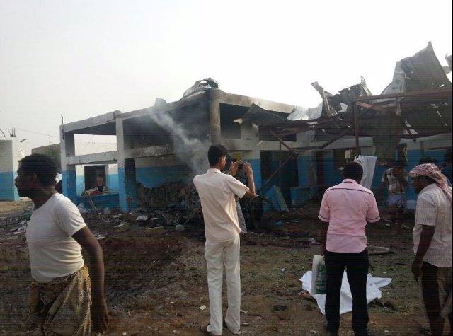 Ataque contra hospital de MSF en Yemen