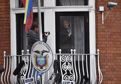 Julian Assange, cuatro años 'detenido' en la embajada ecuatoriana en Londres