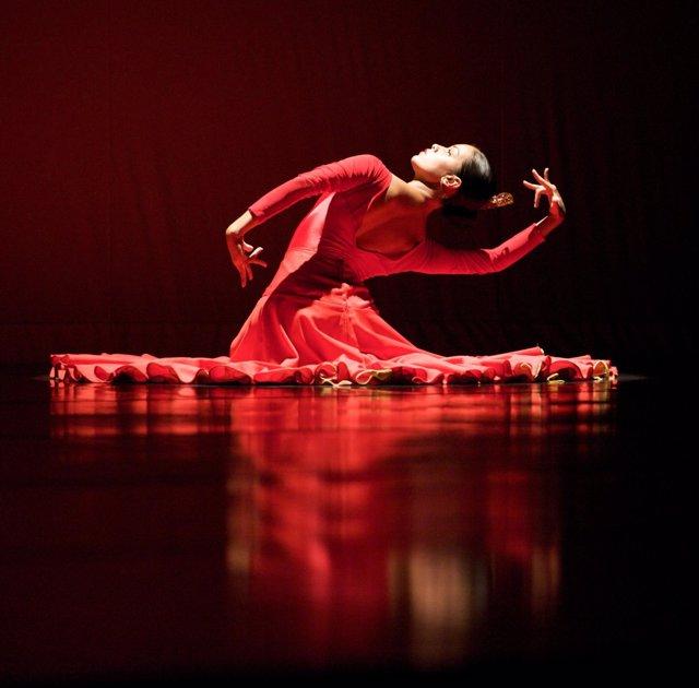 Mónica Saucedo, de la Ensemble Español Spanish Dance Theater de Chicago