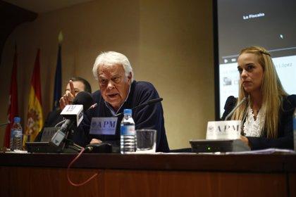 Felipe González cree que ya no queda tiempo para el diálogo en Venezuela