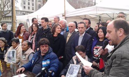 Los miembros de Tupac Amaru, acampados y en huelga de hambre por Milagro Sala