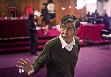 Perú anula una condena de ocho años al expresidente Fujimori