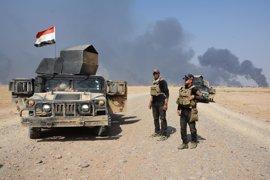 El Ministerio de Defensa de Irak anuncia la liberación de cuatro localidades al sur de Mosul