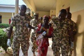 La niña de Chibok encontrada en mayo asegura que echa de menos a su marido, de Boko Haram