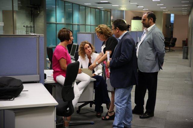 Meritxell Batet presentan  nuevas medidas parlamentarias