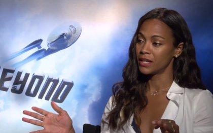 """Zoe Saldana (Star Trek: Más Allá): """"Uhura es la mujer que me gustaría ser"""""""