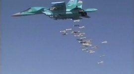 Rusia bombardea a Estado Islámico en Deir Ezzor con aviones desplegados en Irán
