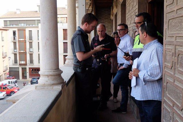 Tarazona refuerza la seguridad con motivo de la celebración del Cipotegato