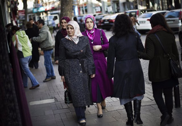 Velo mujeres Turquía