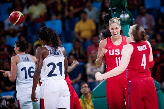 Estados Unidos gana a Francia y se clasifica para la final olímpica