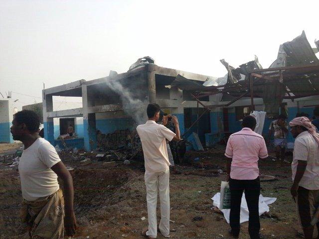 Ataque a un hospital de MSF en Yemen