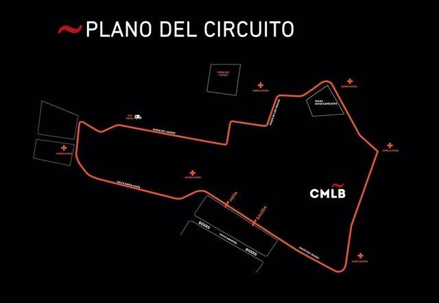 Circuito La Bañeza : Corredores en la carrera internacional de motos de la bañeza