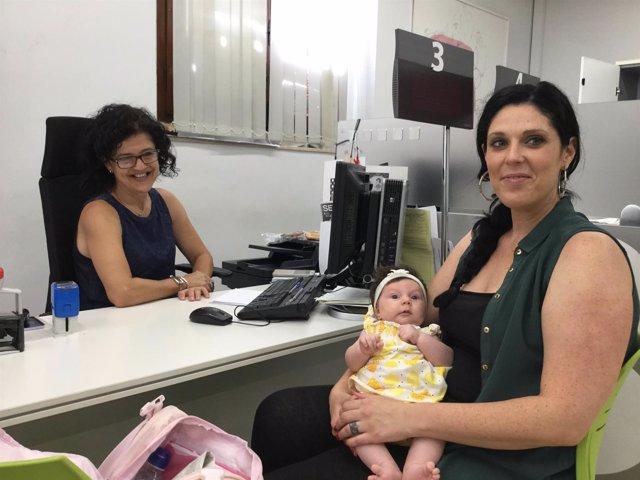 Registro de solicitudes del cheque bebe en Paterna